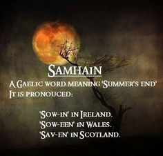 Samhain All Hallows Eve