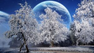 Winter Solstice Cold Full Moon